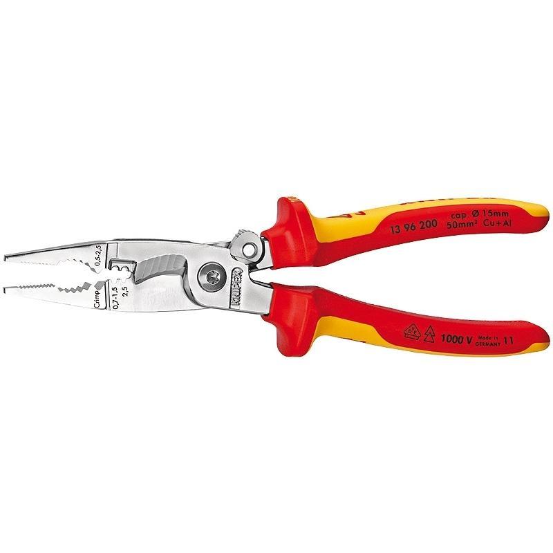 Пассатижи Knipex Kn-1396200 комбинированные ножницы knipex kn 9505185