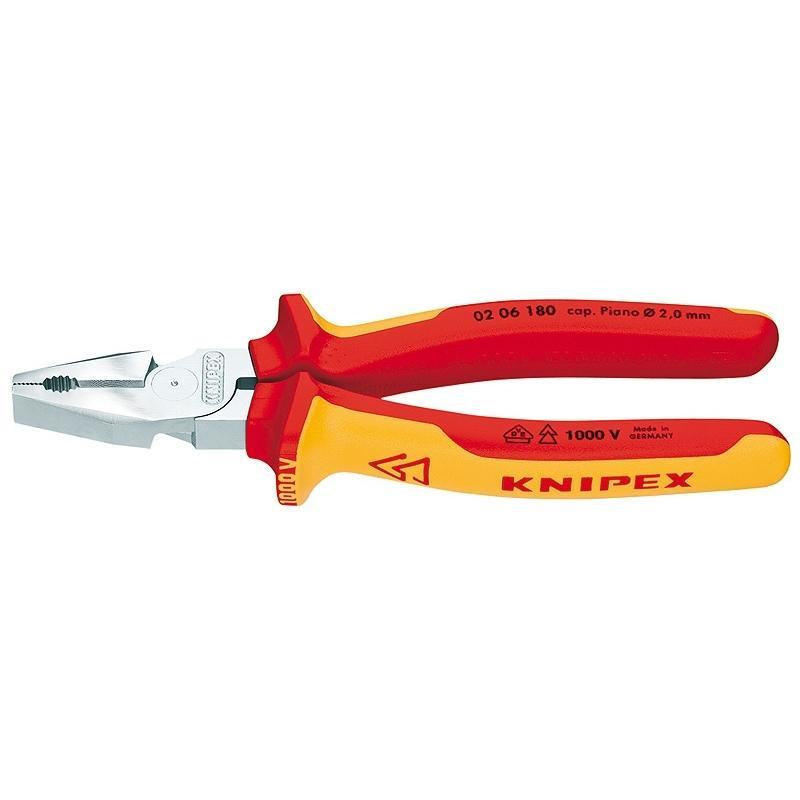 Плоскогубцы Knipex Kn-0206180 плоскогубцы диэлектрические truper t200 8x 12350