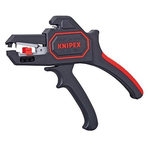 Клещи для снятия изоляции Knipex Kn-1262180 инструмент для снятия изоляции knipex kn 1106160