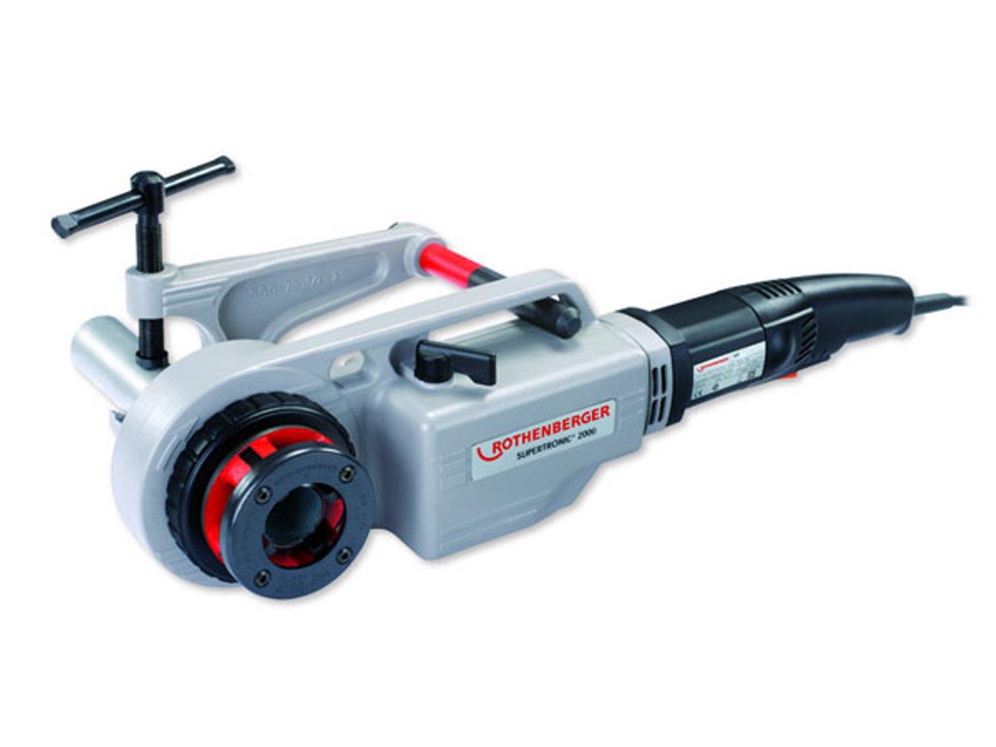 Электрический клупп Rothenberger Supertronic 2000 71256r усиленные боковые кусачки 165мм rothenberger 324588