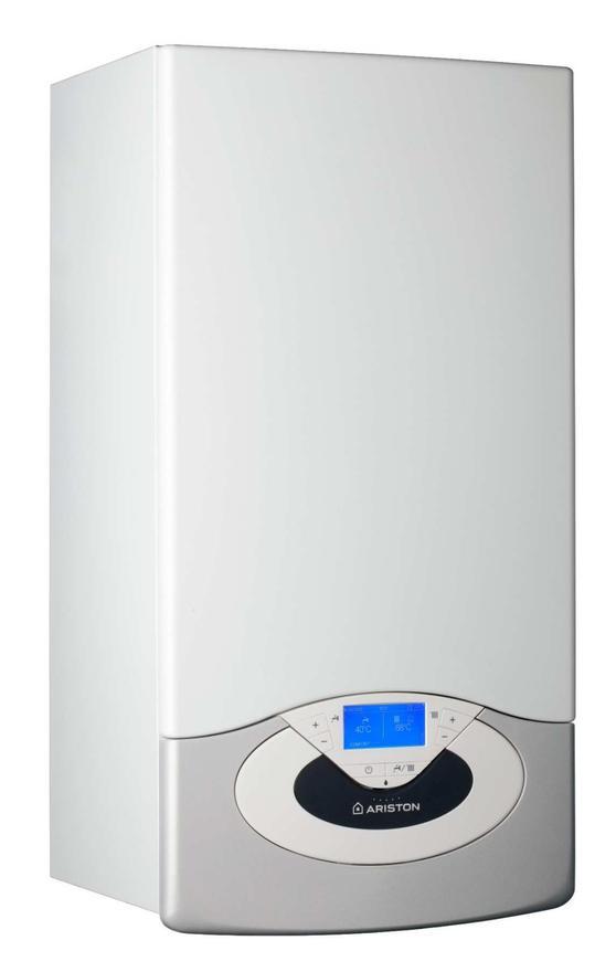 Одноконтурный настенный газовый котел Ariston Genus premium evo system 30 пластинчатый насос бг 12 42 в донецке