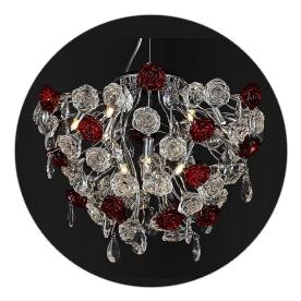 Люстра Lamplandia 5017-10 rosa neon lamplandia 6026 10 rey