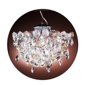 Люстра Lamplandia 5018-10 rosa champange люстра lamplandia 8599 10 rigato