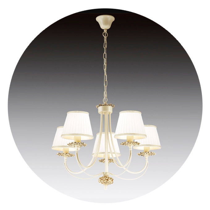Люстра Lamplandia 3890-5 grace люстра lamplandia daria 3х40вт е14 металл темно коричневый