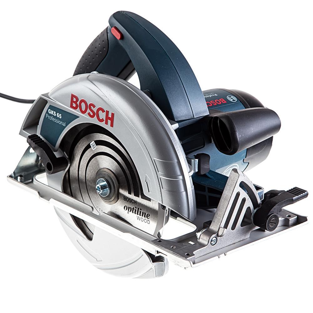 Пила циркулярная Bosch Gks 65 (0.601.667.000) дисковая пила bosch gks 190 0 601 623 000