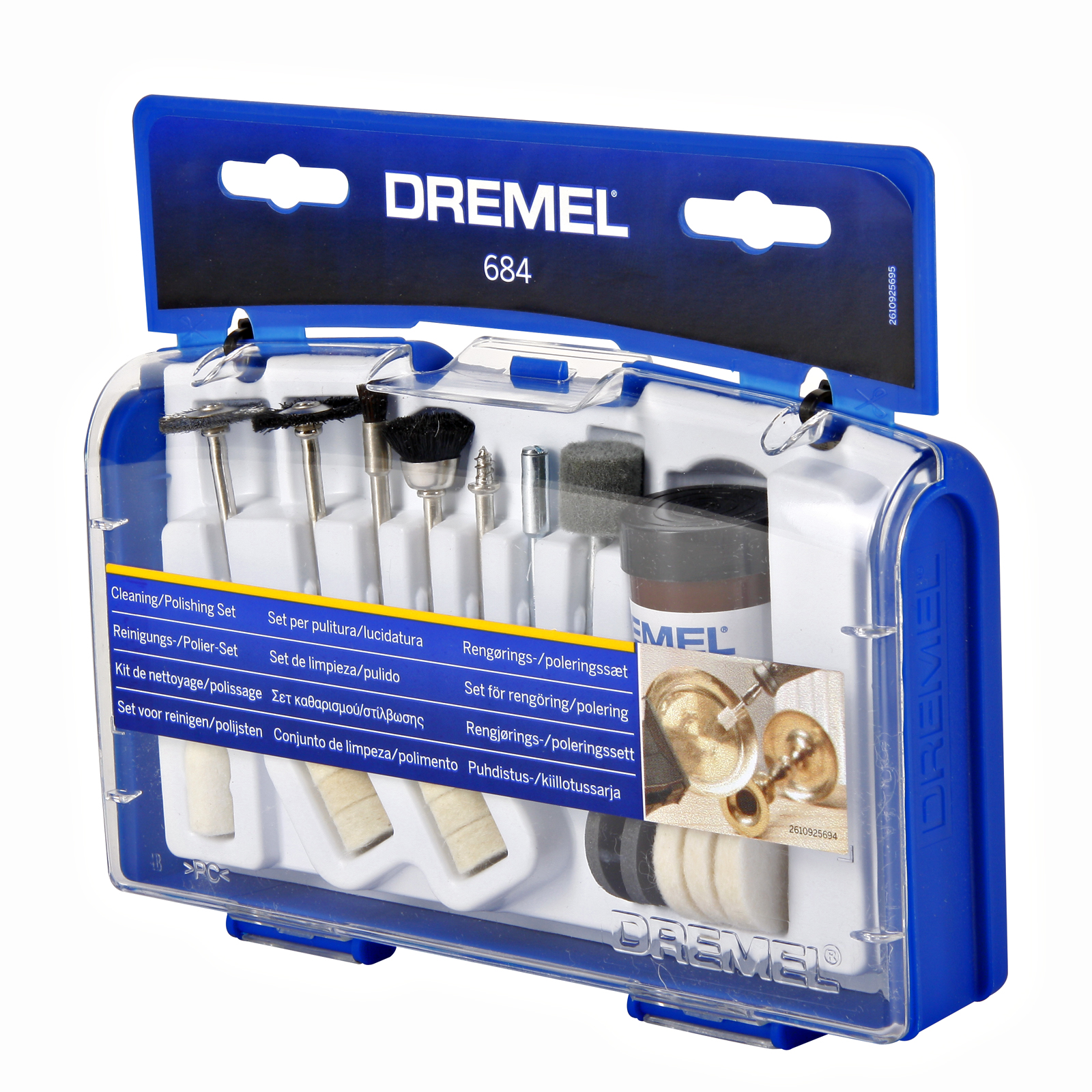 Набор насадок для дрели Dremel 684 набор для домашнего декора dremel f013g290jd