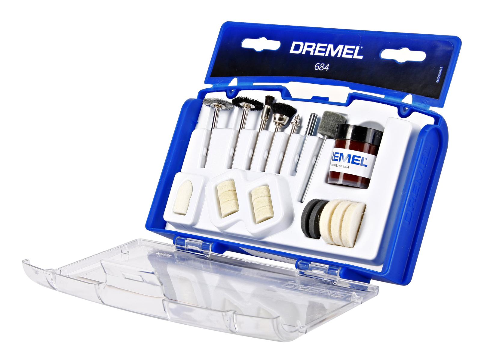 Набор насадок для дрели Dremel 684 от 220 Вольт
