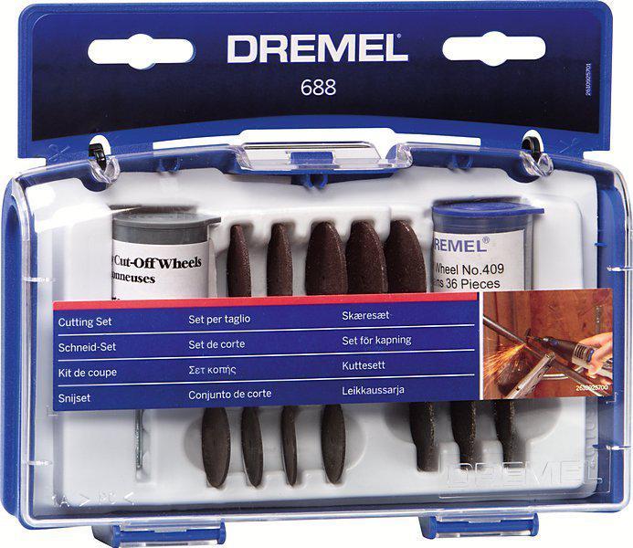 Набор насадок для дрели Dremel 688 набор для домашнего декора dremel f013g290jd