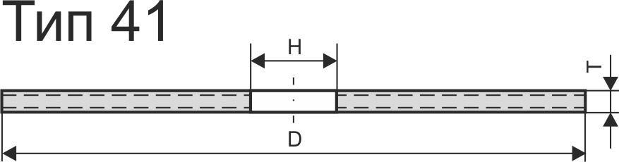 Круг отрезной ЛУГА-АБРАЗИВ 100x1,2x16 А54 упак. 50 шт.