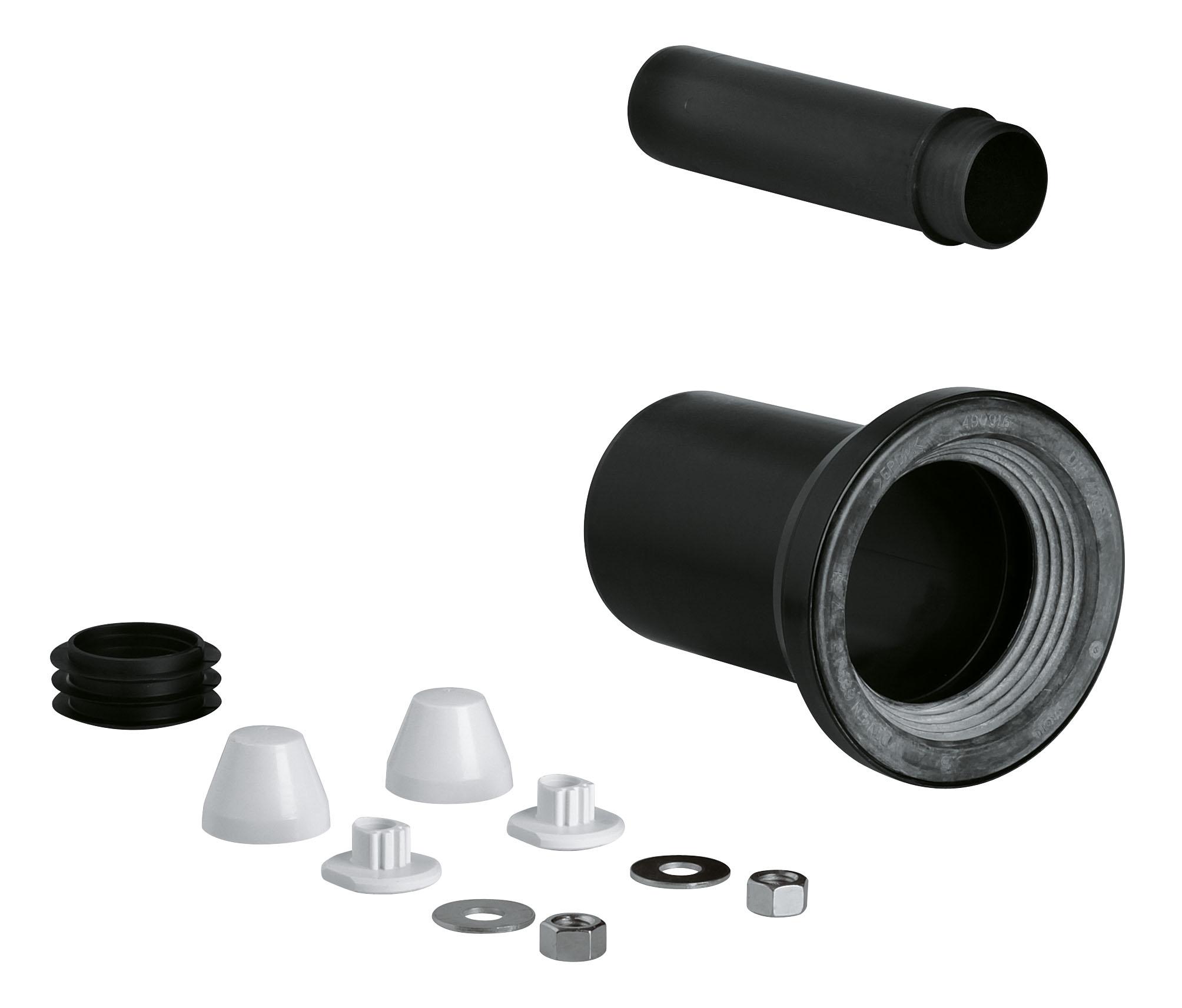 Комплект впускной и смывной гарнитуры для унитаза Grohe 37311k00 смывной клапан для отверстия в крышке бачка диаметр 40 мм grohe 37085pi0