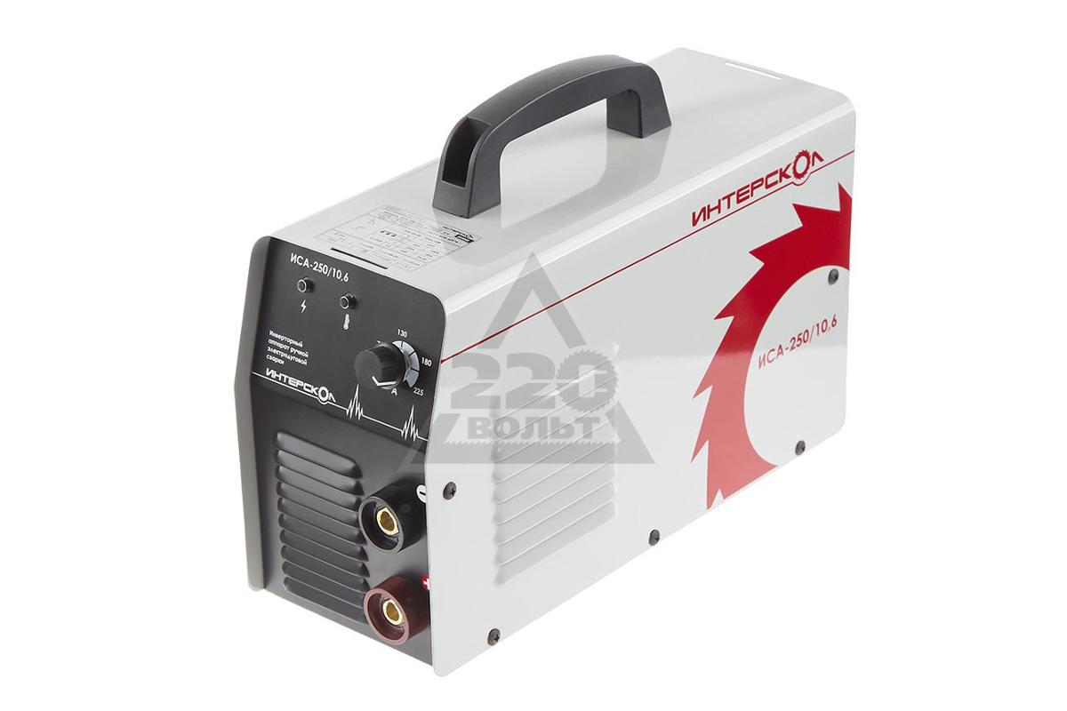 Сварочный аппарат интерскол 250 ампер выбираем сварочный аппарат 220