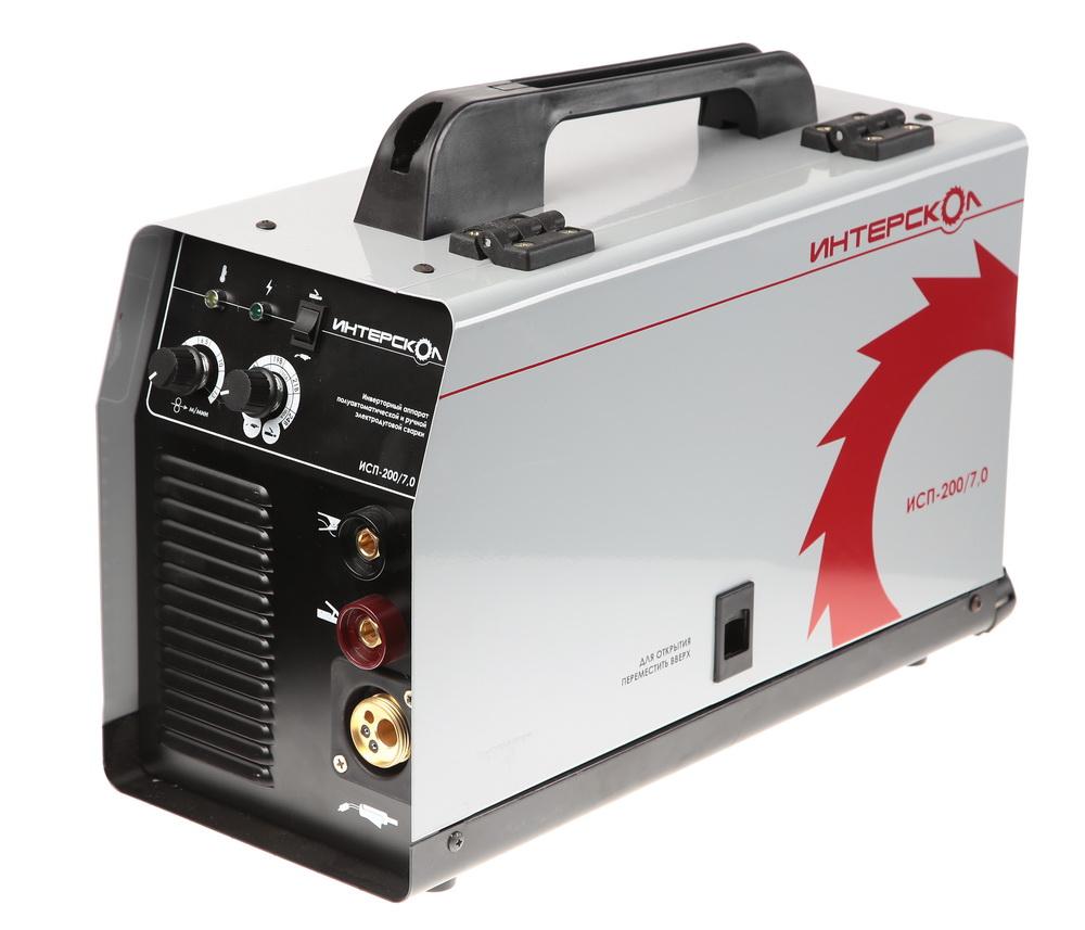 Купить со скидкой Сварочный аппарат ИНТЕРСКОЛ ИСП-200/7.0 (264.1.0.00)