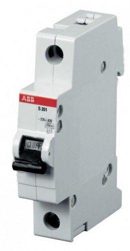 Автомат Abb S201 c63 автомат 3p 63а тип с 6 ka abb s203
