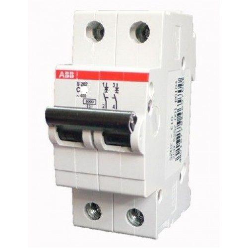 Автомат Abb S202 c25 дифференциальный автомат 1p n 10а тип c 30 ма 4 5 ka abb dsh941r