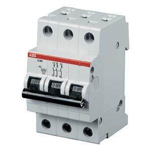 Автомат Abb Sh203l c32 автомат 3p 63а тип с 6 ka abb s203