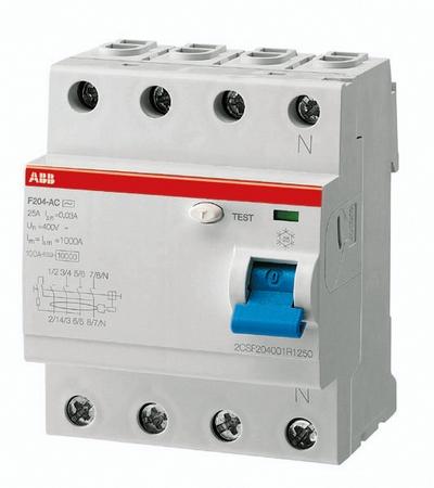 цена на УЗО Abb Fh204 ac-40/0,03