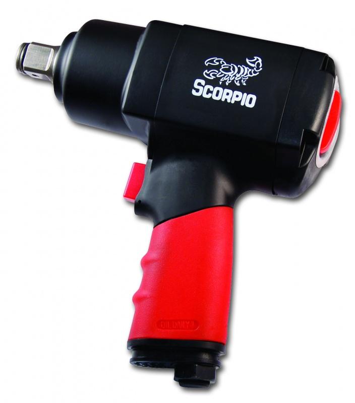 Гайковерт пневматический ударный Scorpio Yu-1930t scorpio yu 1281tk