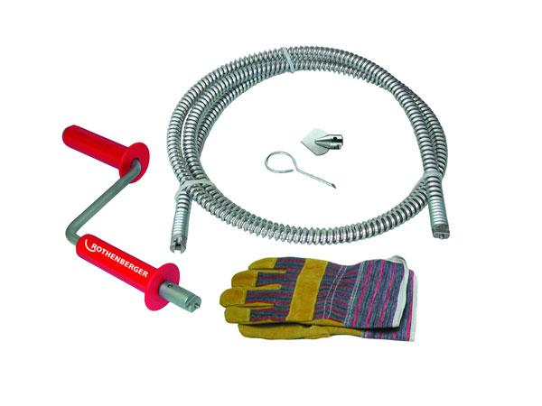 Трос для прочистки Rothenberger Ropower handy 71975 трос для прочистки rothenberger rospi 6 н е 72090