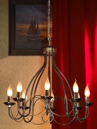 Люстра Lussole Lsa-4613-08 люстра lsa 4613 08 lussole гостиной для спальни для кухни
