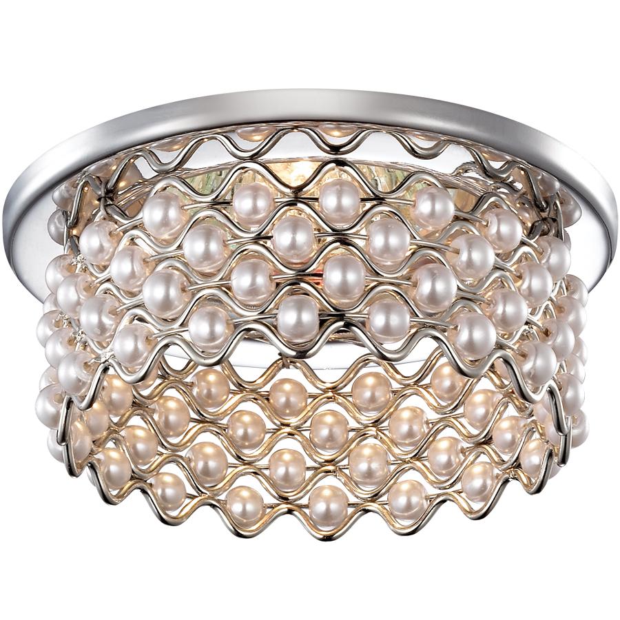 Светильник встраиваемый Novotech Pearl nt14 013 369889 novotech встраиваемый светильник novotech pearl 369895