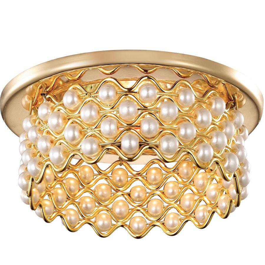 Светильник встраиваемый Novotech Pearl nt14 013 369891 novotech встраиваемый светильник novotech pearl 369895