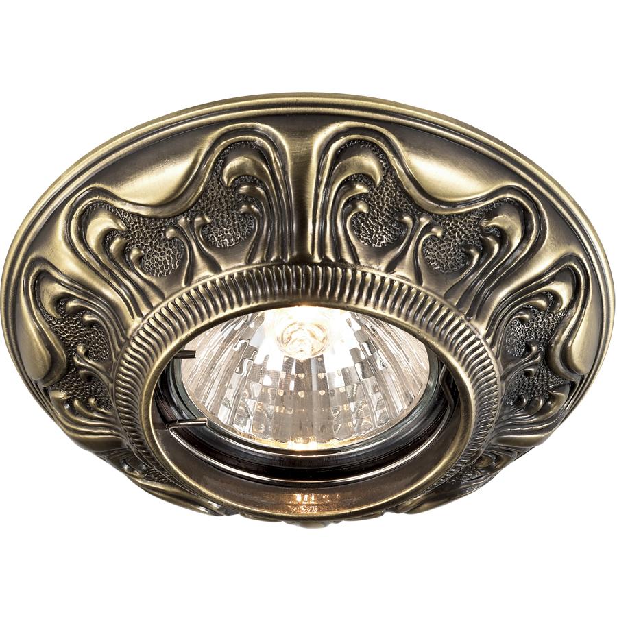 Светильник встраиваемый Novotech Vintage nt14 021 369852 светильник wertmark we138 02 021