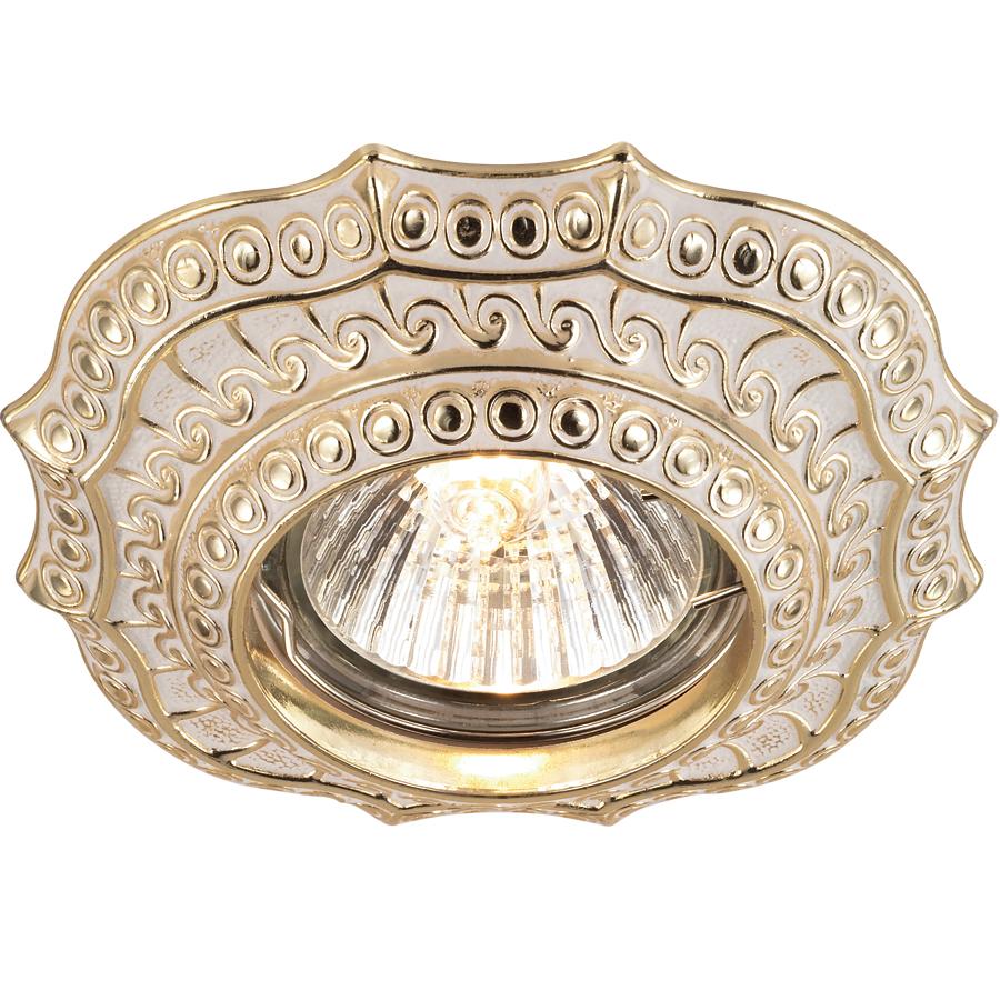Светильник встраиваемый Novotech Vintage nt14 022 369856 светильник для ванной комнаты ranex 3000 022
