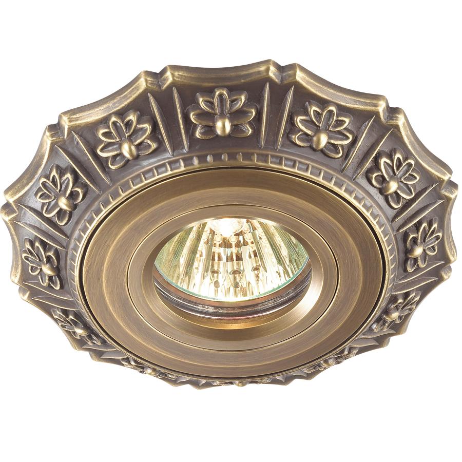 Светильник встраиваемый Novotech Vintage nt14 025 369933 все цены