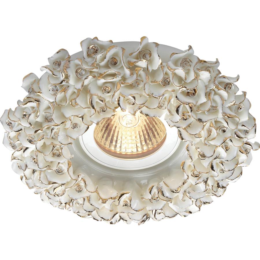 Светильник встраиваемый Novotech Farfor nt14 032 369949 светильник 369949 farfor novotech 927372