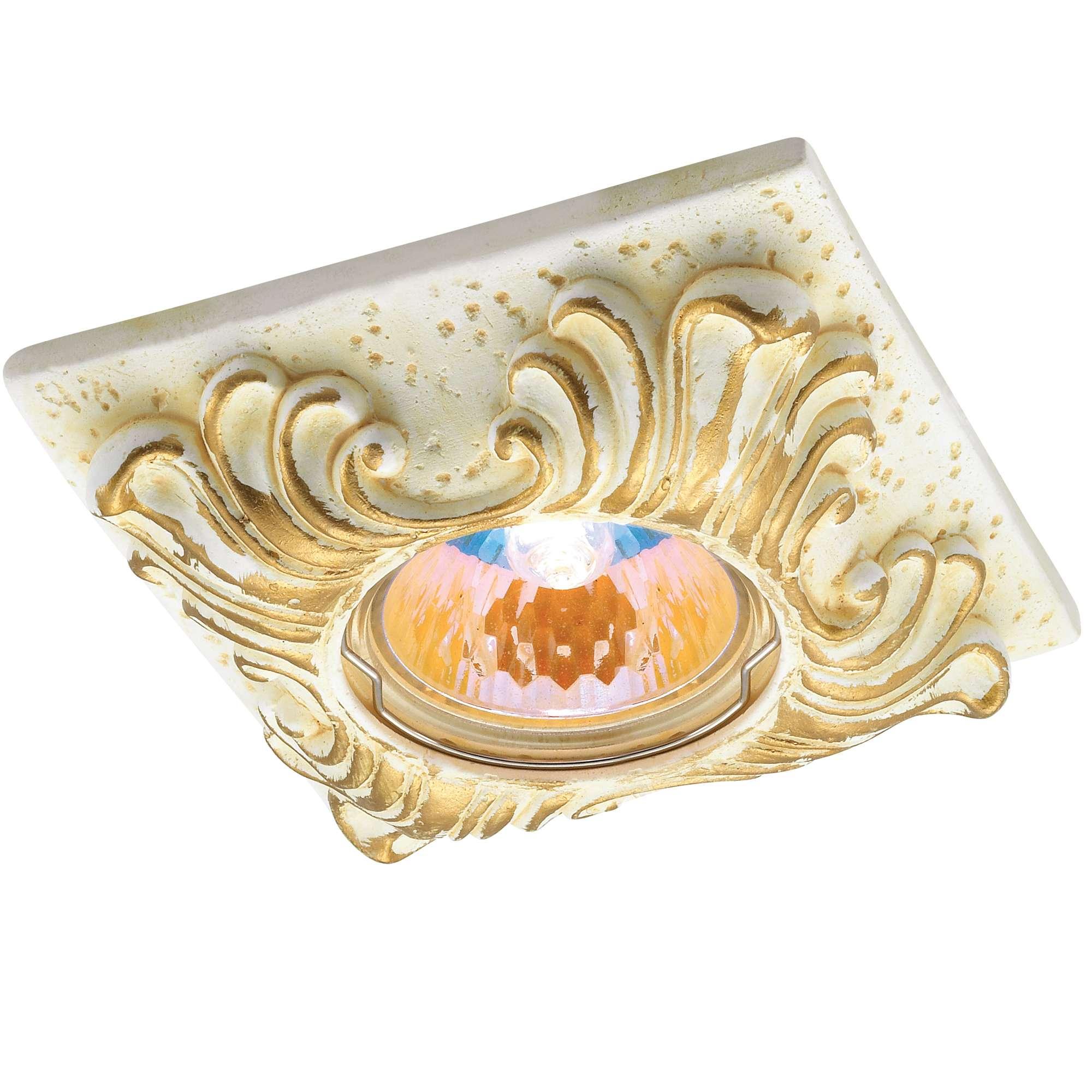 Светильник встраиваемый Novotech Sandstone nt12 123 369568 встраиваемый светильник novotech 369568
