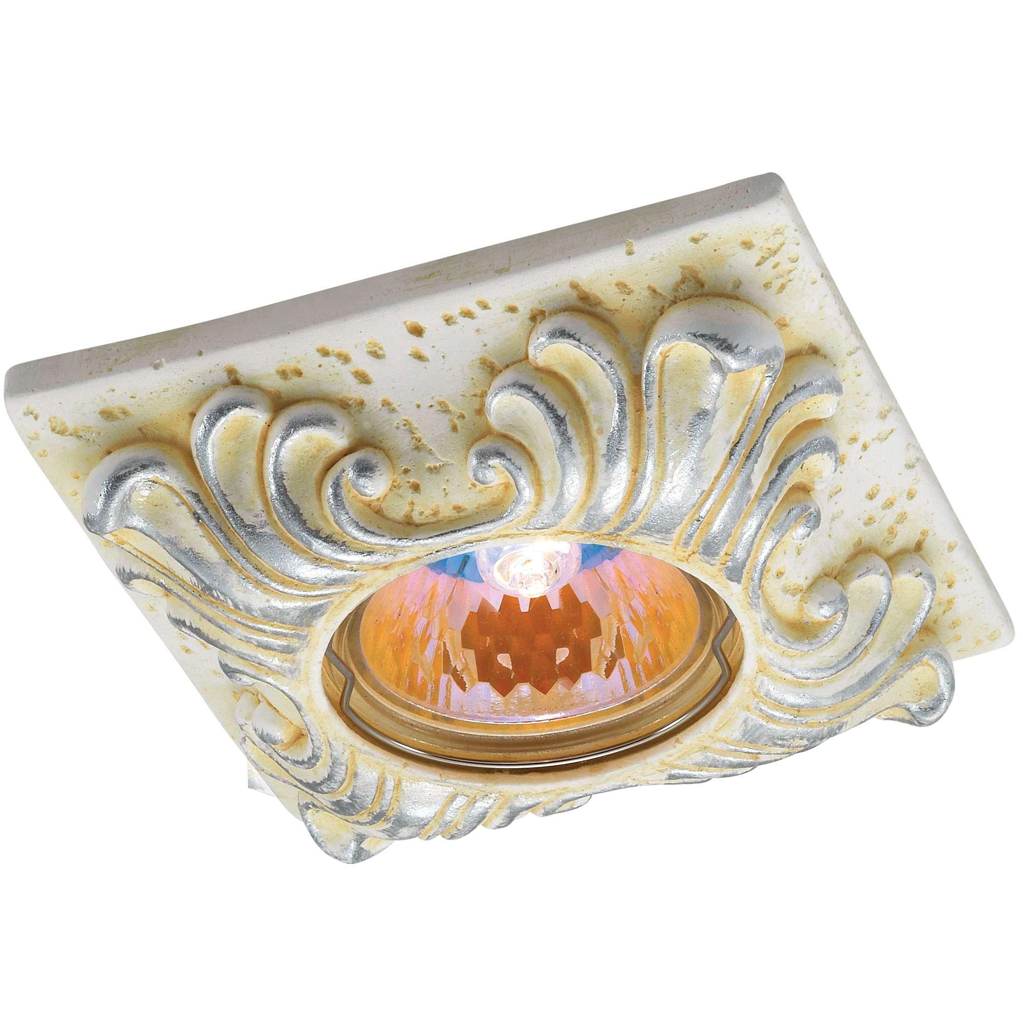 Светильник встраиваемый Novotech Sandstone nt12 123 369569