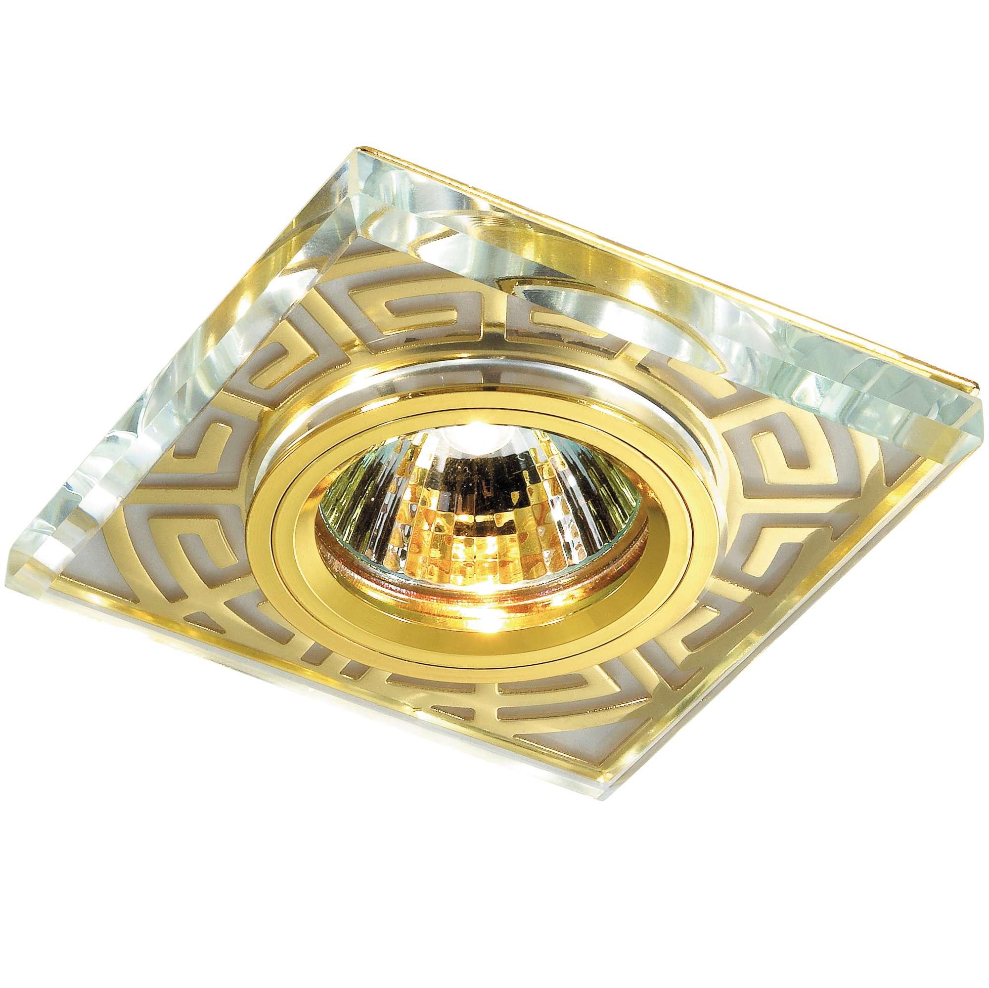 цена на Светильник встраиваемый Novotech Maze nt12 131 369585