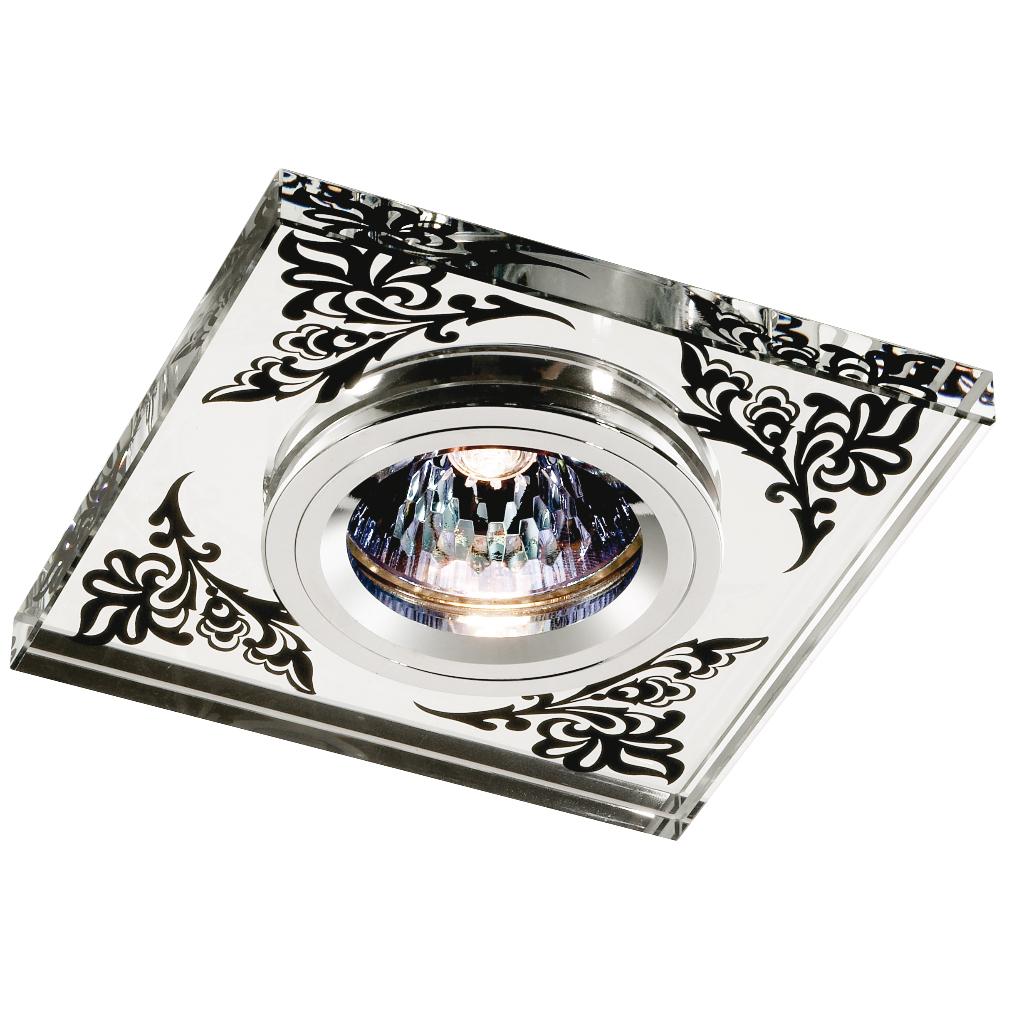 Светильник встраиваемый Novotech Mirror nt11 134 369544 встраиваемый светильник novotech mirror 369544