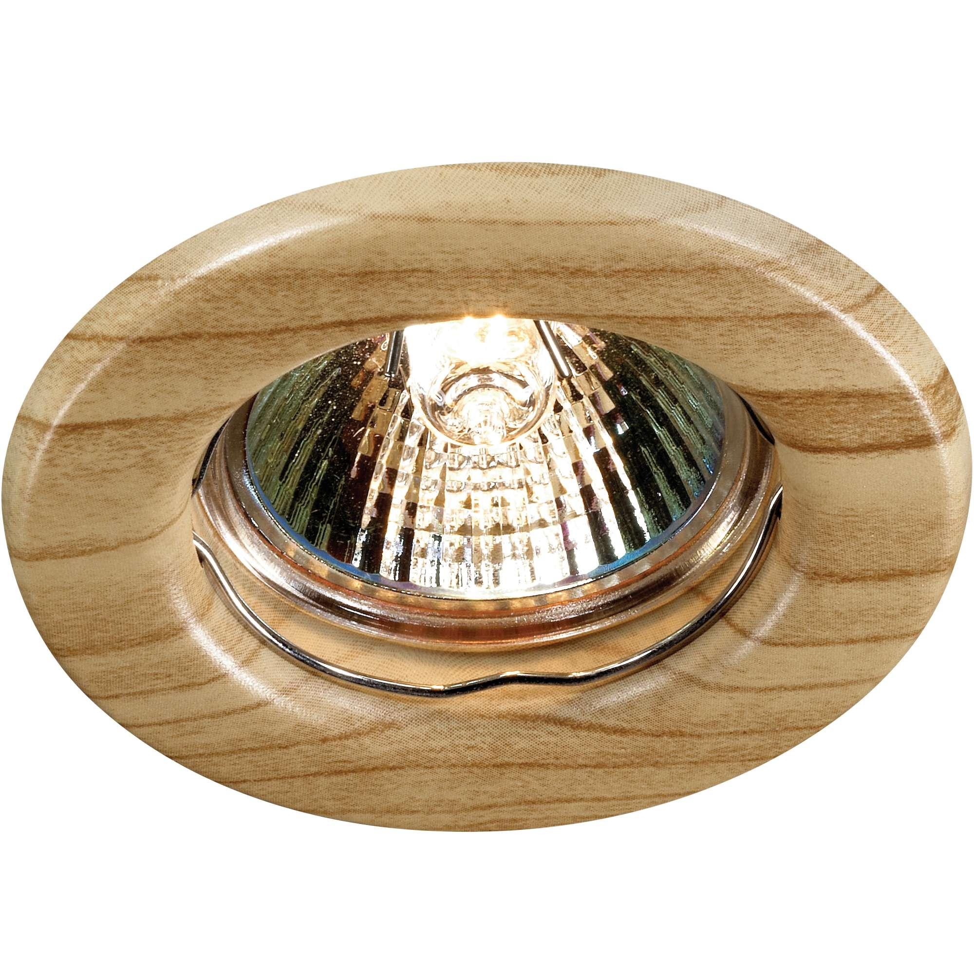 Светильник встраиваемый Novotech Wood nt12 156 369713