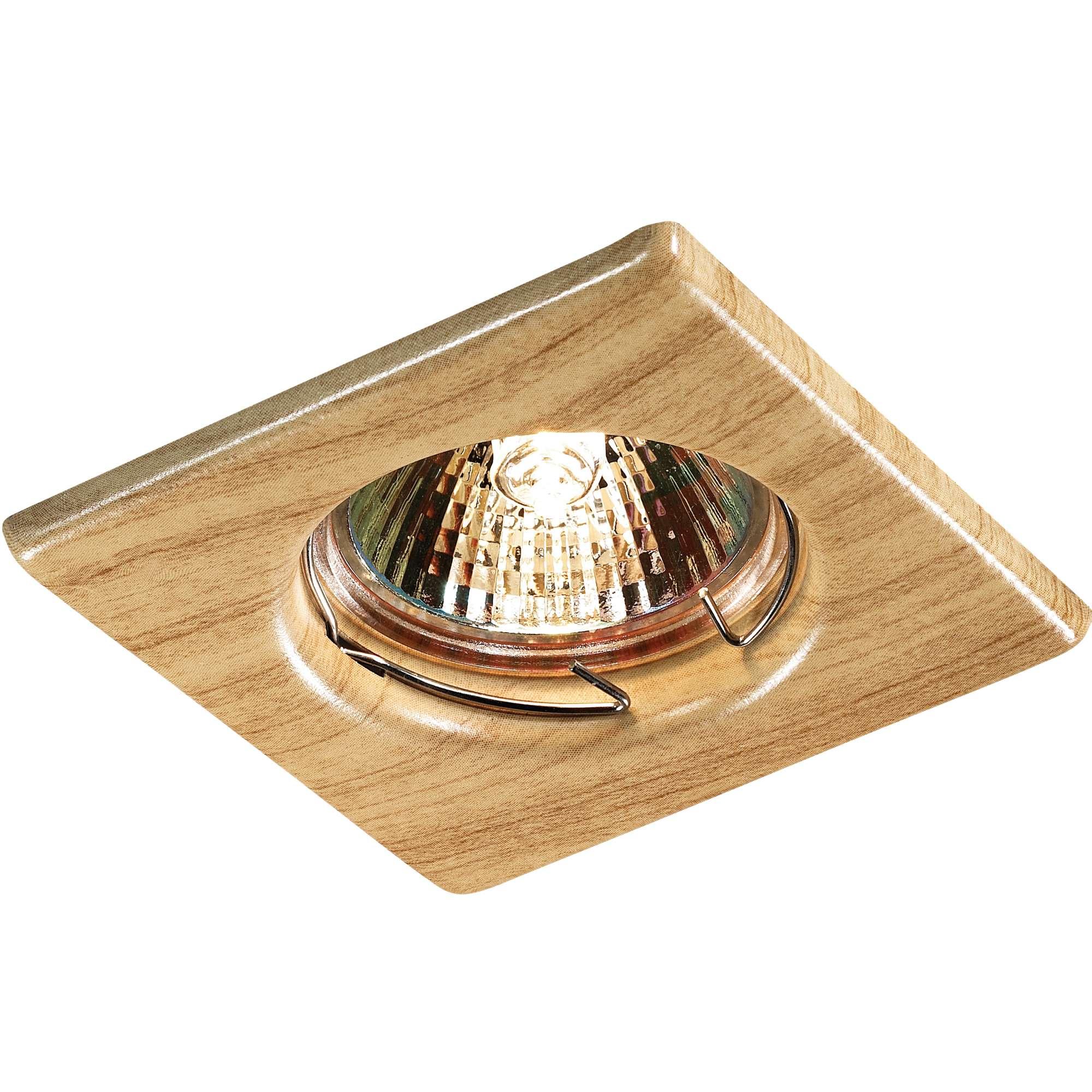 Светильник встраиваемый Novotech Wood nt12 157 369716