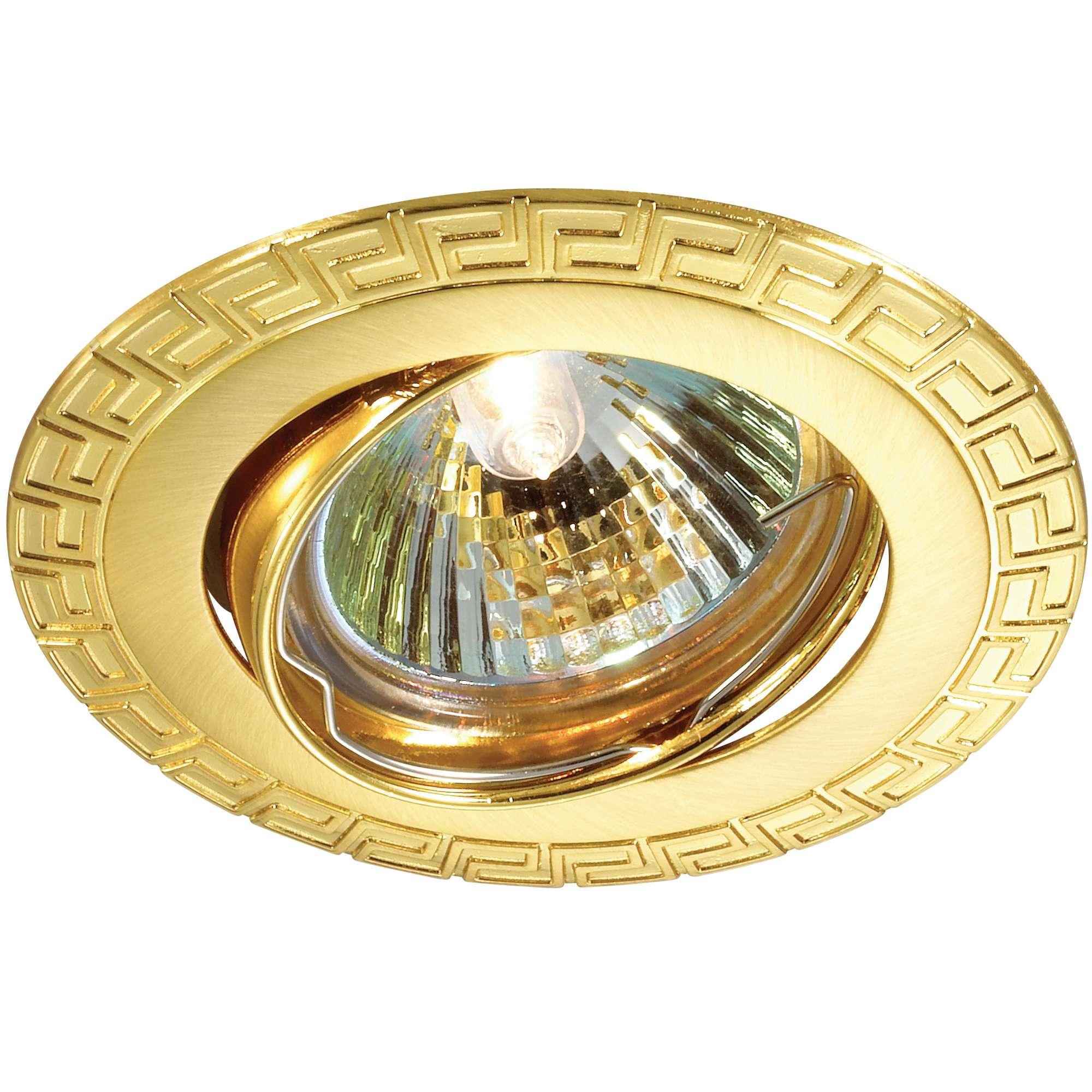 все цены на Светильник встраиваемый Novotech Coil nt12 161 369619 онлайн