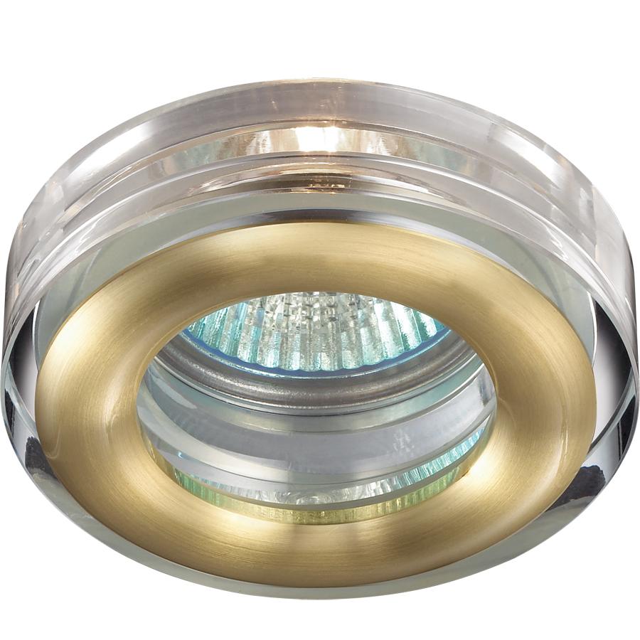Светильник встраиваемый Novotech Aqua nt14 176 369881 aqua блик 14 0g цвет 03