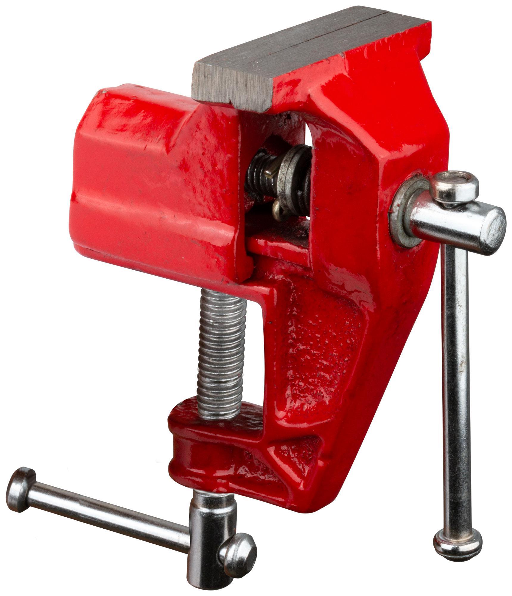 Тиски слесарные Fit 59405 тиски слесарные с наковальней