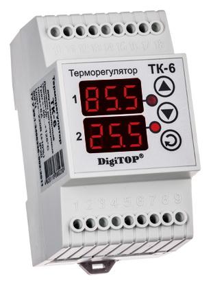 все цены на Терморегулятор Digitop ТК-6 онлайн