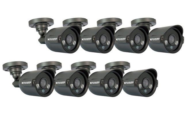 Комплект видеонаблюдения Kguard El1621-8hw212b от 220 Вольт