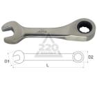 Ключ гаечный комбинированный с трещоткой 10х10 AIST 011010B