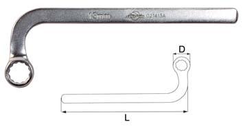 Ключ гаечный накидной 13мм Aist 021413a (13 мм)