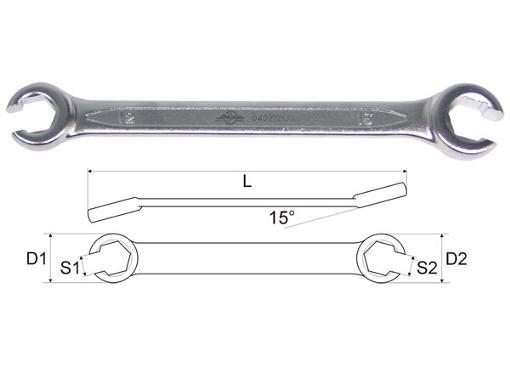 Ключ гаечный AIST 04021618A (16 / 18 мм)