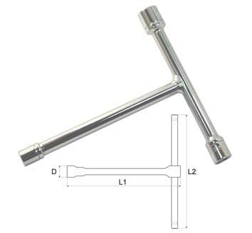 Ключ торцевой Aist 09020812b