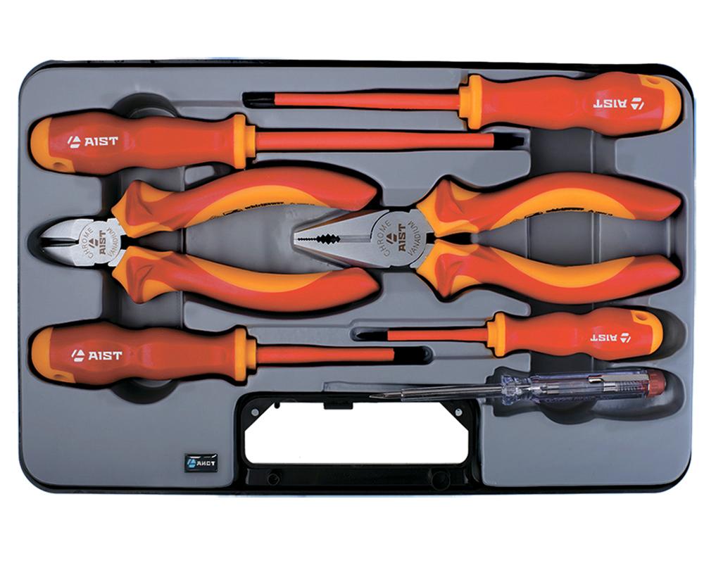 Универсальный набор инструментов Aist 701107 предупреждающие индикаторы 6