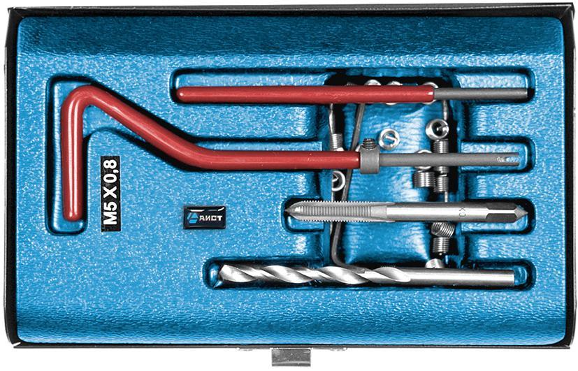Набор инструментов для восстановления резьбы, 25 предметов Aist 67310520 россия шк в ярославле 25 5