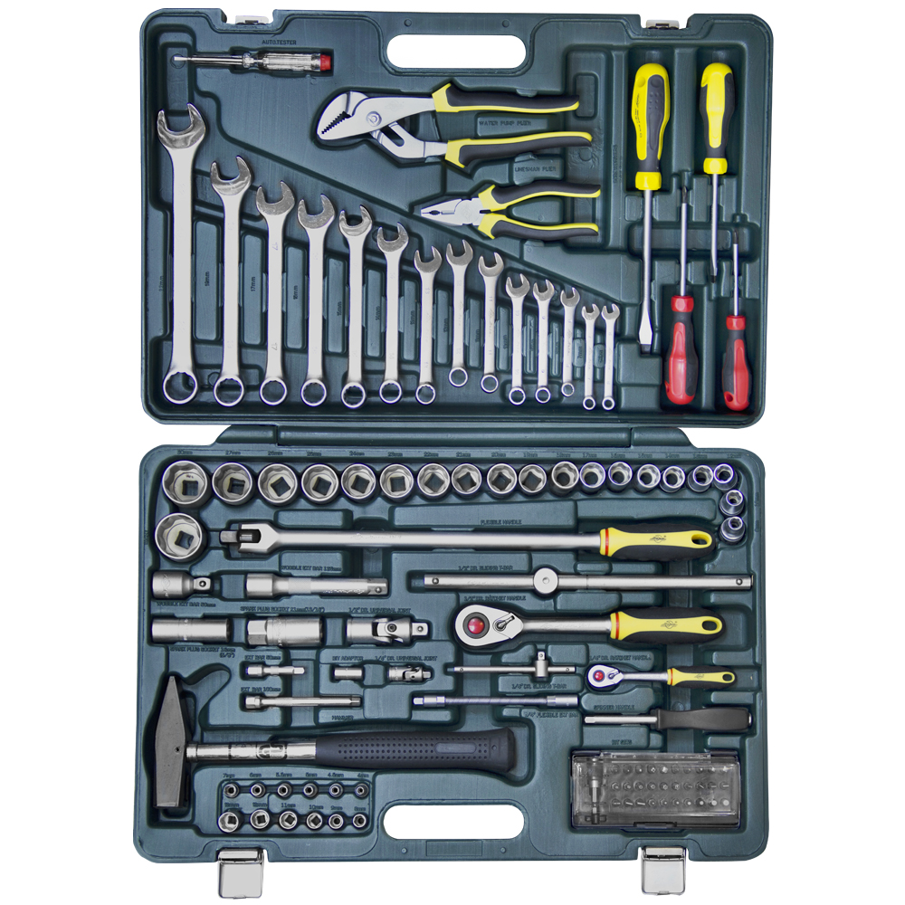 Купить Набор инструментов в чемодане, 101 предмет Master 4083101