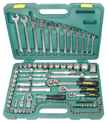 Набор инструментов в чемодане, 195 предметов Aist 4094111b