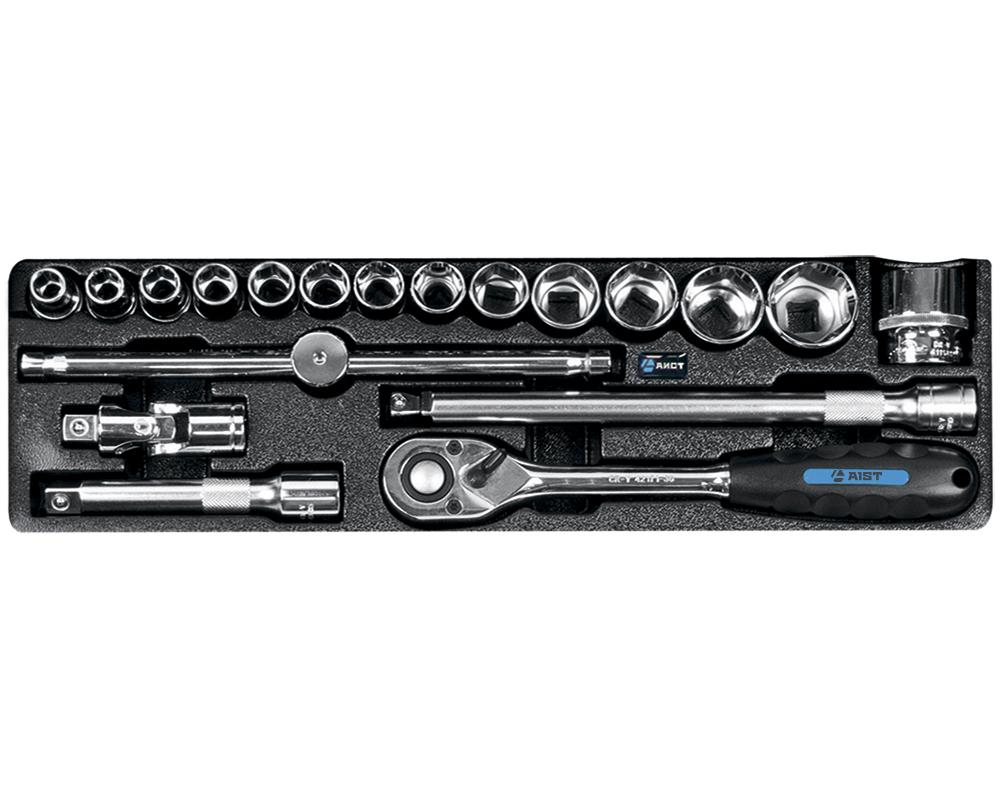 Универсальный набор инструментов Aist 0-401119 набор aist 0 600115 инструмента 15 предметов в ложементе 145x402x46 мм