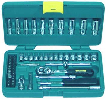 Набор инструментов в пластиковом кейсе, 61 предмет Aist 209161b мода цвет стиль